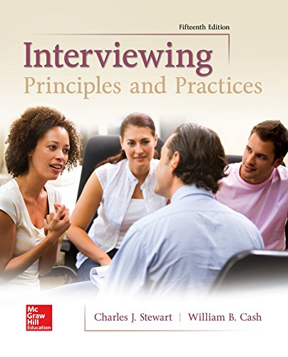 1259870537 - Interviewing: Principles and Practices
