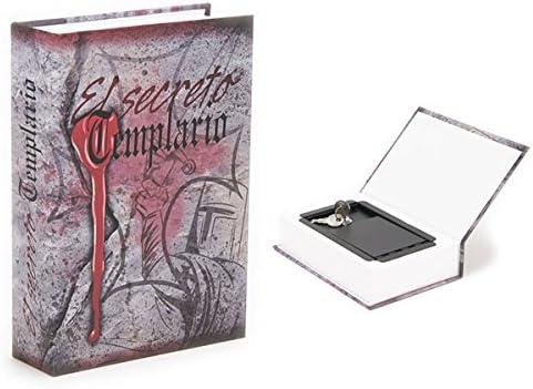 Caja Fuerte Camuflada Libro El secreto Templario: Amazon.es: Hogar