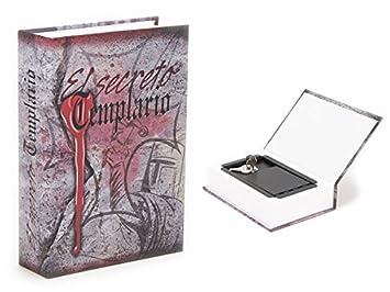 Caja Fuerte Camuflada Libro El secreto Templario