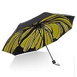 Red Originality Parasol Black Umbrella Superstrong Sunburn Protection Rain Umbrella