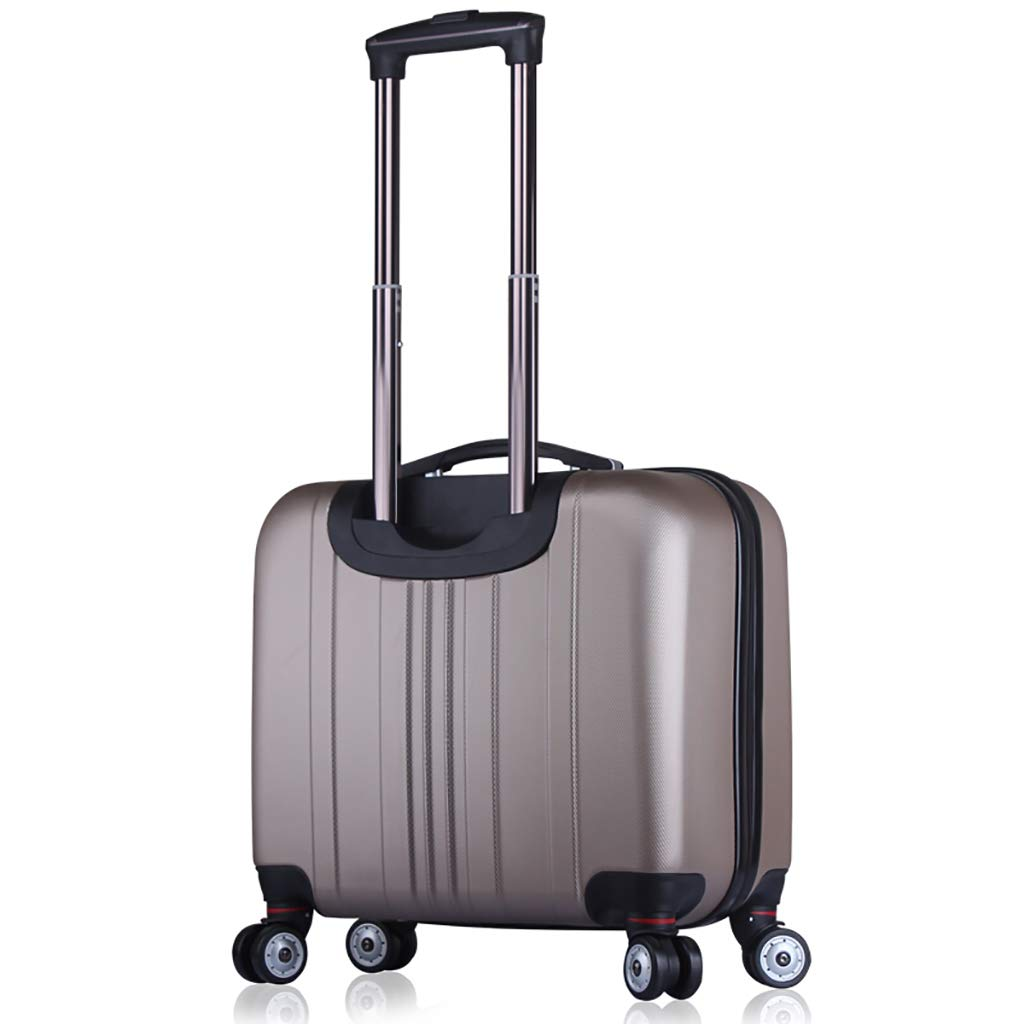 159f14bce6 ... ローリングラップトップケースブリーフケースコンパクトオーバーナイトトラベルトートバッグ荷物ビジネストロリーアンチスクラッチ衣類耐性42- スーツケース