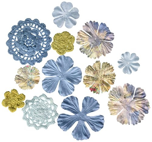 Prima 542597 Sweet Taffy Flower Embellishments,