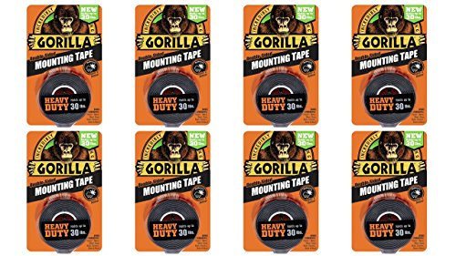 Gorilla 6055001 8 Double Sided Heavy Mounting