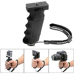 Fantaseal Ergonomic Camera Grip Mount for Nikon Canon Sony DSLR Camera Camcorder+ GoPro Hero5 /4/3/Session Sony Garmin Virb Xiaomi Yi SJCAM Action Camera Hand Grip Stabilizer Handle Support Holder