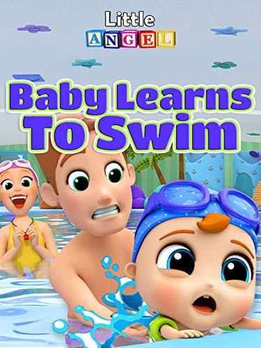 Baby Learns To Swim