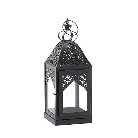 Koehlerhomedecor Holiday Home Decor Outdoor Hanging Steeple Candle Lantern