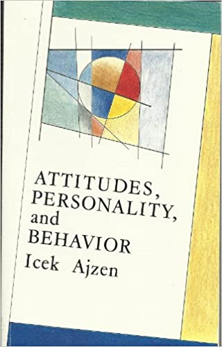 Attitudes, Personality and Behavior (Mapping Social Psychology)