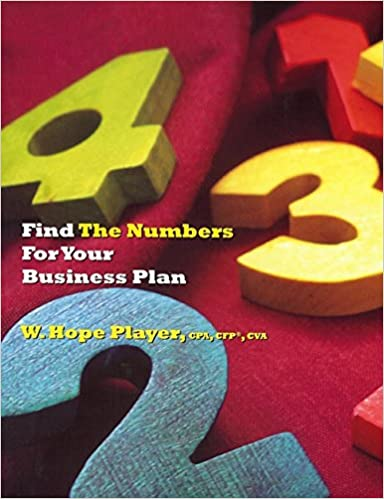 Book Find the Numbers for Your Business Plan
