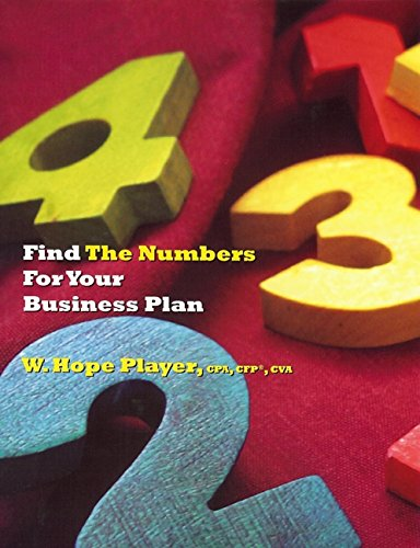 Find the Numbers for Your Business Plan