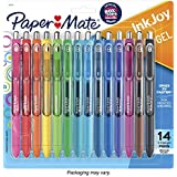 Paper Mate Gel Pens, InkJoy Pens, Medium Point, Assorted, 14 Count