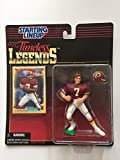 joe theismann figure - JOE THEISMANN / WASHINGTON REDSKINS * 1997 TIMELESS LEGENDS Kenner NFL Starting Lineup & Exclusive Collector Trading Card