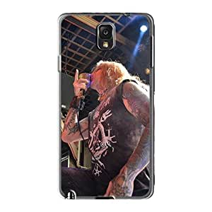 MarieFrancePitre Samsung Galaxy Note3 Shock Absorbent Cell-phone Hard Covers Provide Private Custom Realistic Coal Chamber Band Image [yts15883UuHC]