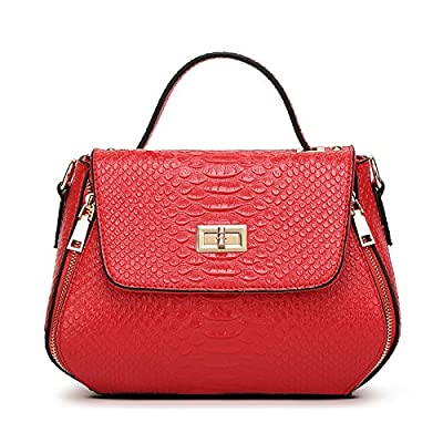 Mefly Diagonale de l'Épaule unique Portable sac à bandoulière sac à main mode pour femmes Cross Shell sac grand des sacs,de gueules