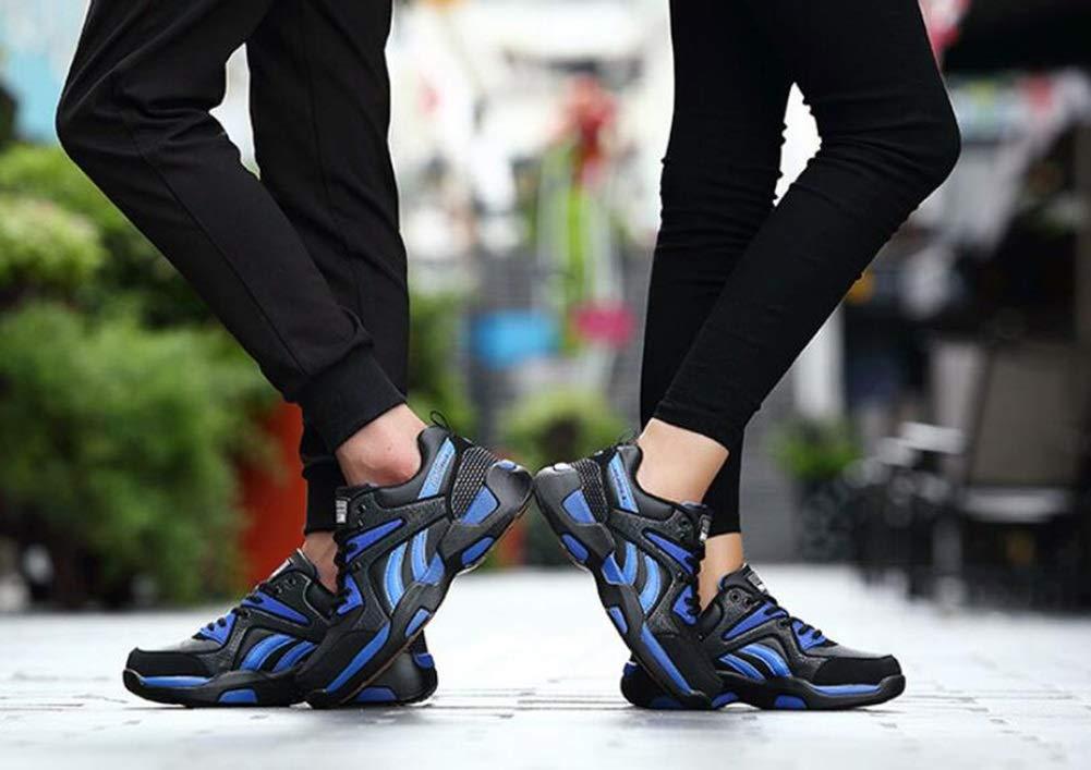Damen Turnschuhe Turnschuhe Turnschuhe 2018 Herbst und Winter Große Turnschuhe Lovers Plus Samt warme Schuhe Freizeitschuhe Student Laufschuhe (Farbe   B Größe   43) b26f03