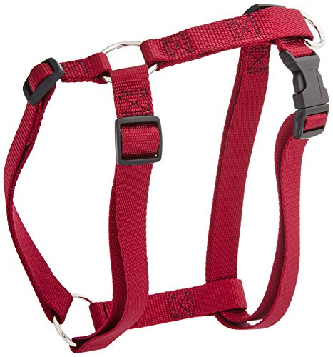 28in   36in Dog Harness Burgundy, Xlrg 100 200 lbs Dog By Majestic Pet Products ()