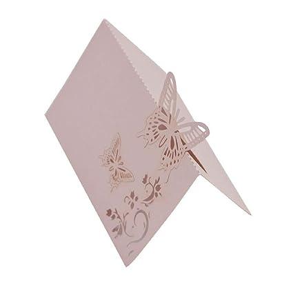 Amazon 10pcs 9x12cm Butterfly Folding Type Laser Cut Heart