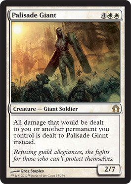 Magic: the Gathering - Palisade Giant (15) - Return to - Stores Palisades