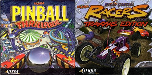 3D Ultra Pinball Thrillride and RC Racers Deluxe (Jewel Case) - -