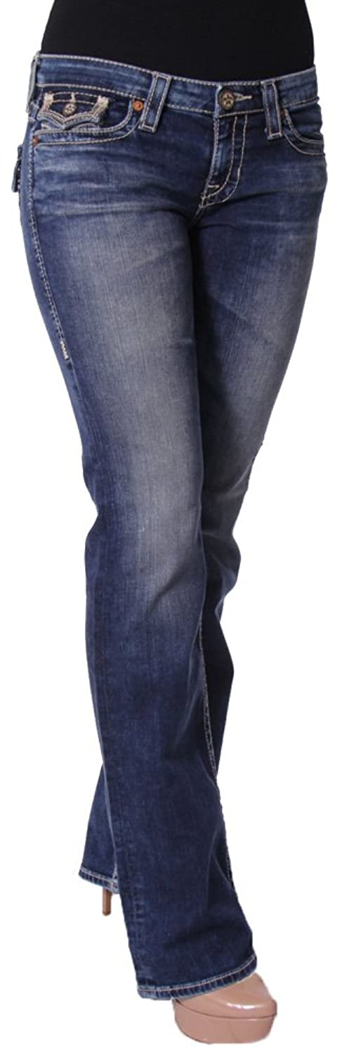 Big Star Remy Low Rise Bootcut in 16 Year Montclair FWREF1MC