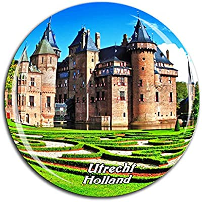 Weekino Castle The Hair Utrecht Holanda Holanda Imán de Nevera ...