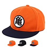 PopCrew Dragonball Dragon Ball Z Snapback Cap Adjustable Anime Fan Cosplay Costume Hat (Kame.)