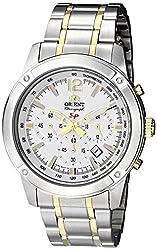 Orient Men's FTW01003W0 SP Analog Display Japanese Quartz Silver Watch