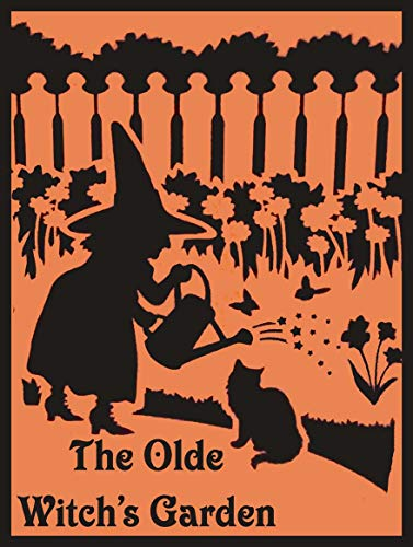 American Collectibles The Olde Witch's Garden Plants for Spells and Hexes Halloween Metal Sign