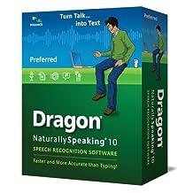 Dragon NaturallySpeaking 10 Preferred (English)