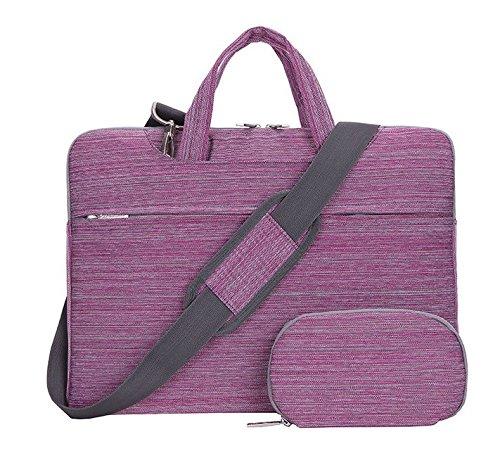 Denim Messenger Bag Shoulder Carrying Case Breifcase for Samsung Galaxy Notebook 9 Pro 13 / Notebook 7 spin 13.3 / Lenovo Yoga 720 13