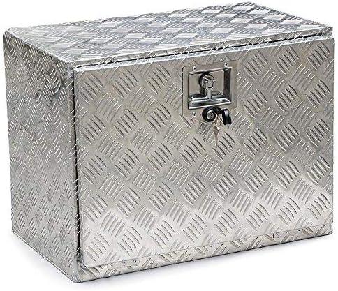 Teekland Caja de Herramientas de Aluminio de 23 Pulgadas para camioneta o Remolque, con Cerradura: Amazon.es: Hogar