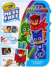 Crayola 750152 Color Wonder Mess Free Coloring Pad and Markers, PJ Masks Red