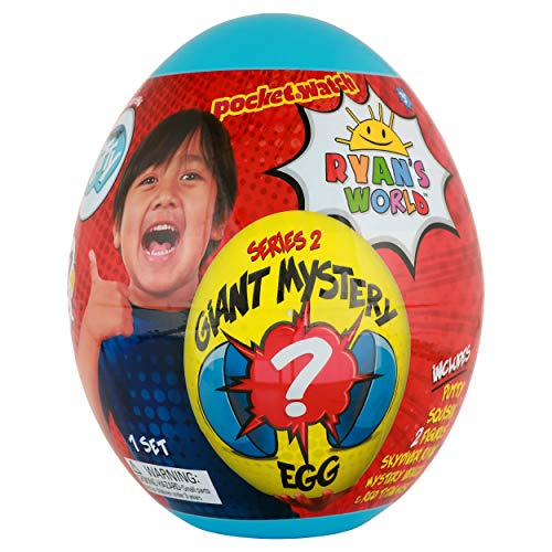 Ryan's World Giant Mystery Egg - Series 2 Toy, Blue ()