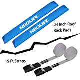 wonitago Soft Roof Rack Pads with Two 15 Ft