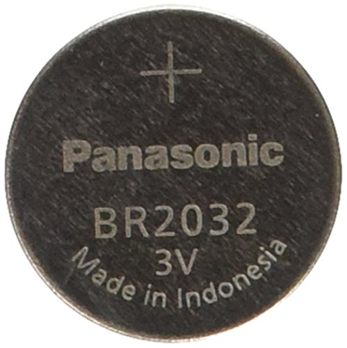 - Panasonic BR2032 Battery, Lithium, 3v, 190ma, Coin cell