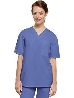 Adar Uniforms Casaca Laboral de Enfermería Unisex