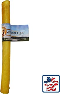 """product image for Wholesome Hide Retriever Roll 9-10"""" Pork Hide"""