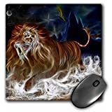 Sabertooth Tiger - Mouse Pad, 8 by 8 inches (mp_214357_1)