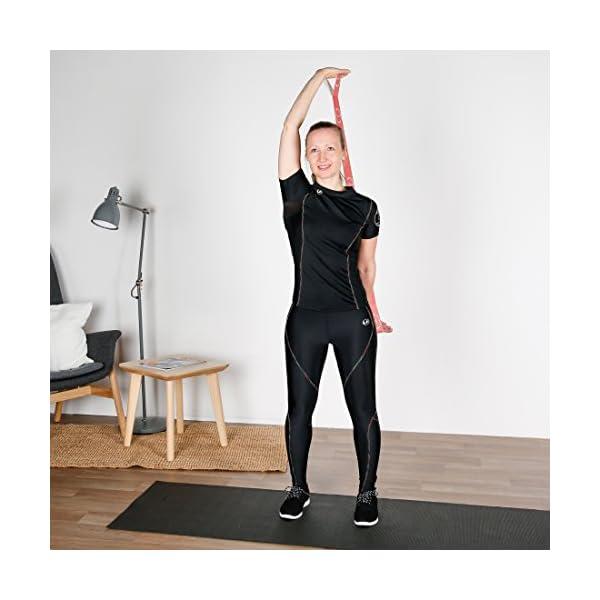 Ultrasport Nastro elastico, fitness per casa e palestra, adatto per pilates, ginnastica e stretching, lavabile in… 7 spesavip