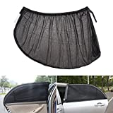2Pcs Car Side Rear Window Glass Sun Cover Solar Protection UV Protection Auto Accessory