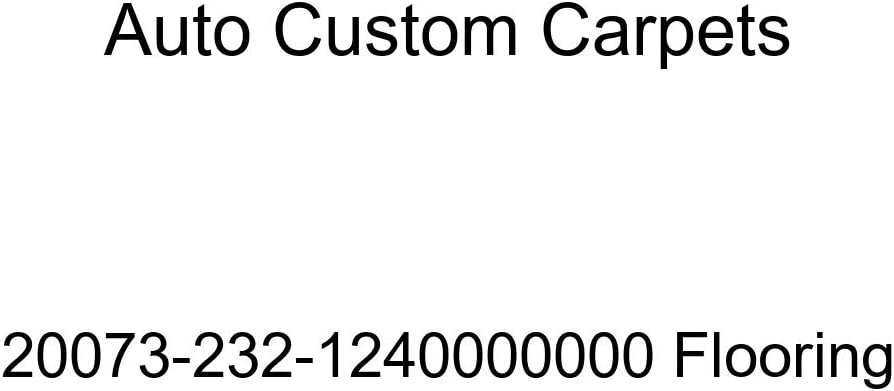 Auto Custom Carpets 20073-232-1240000000 Flooring
