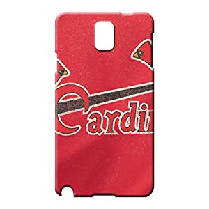 samsung note 3 Dirtshock Perfect pattern mobile phone carrying skins st. louis cardinals mlb baseball