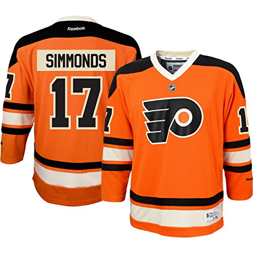 Wayne Simmonds Philadelphia Flyers #17 Orange Youth Replica Alternate Jersey (L/XL)