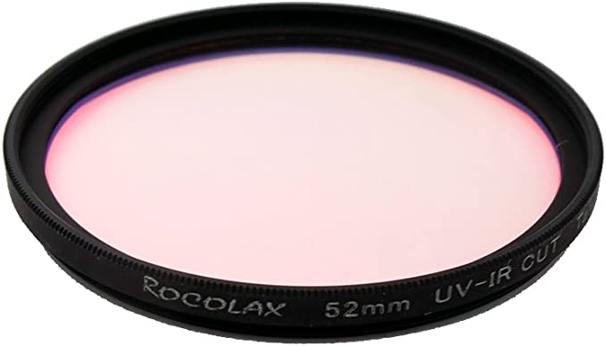52 mm óptico UV-IR Cut Infrarrojos Corte Ultravioleta Bloqueo ...