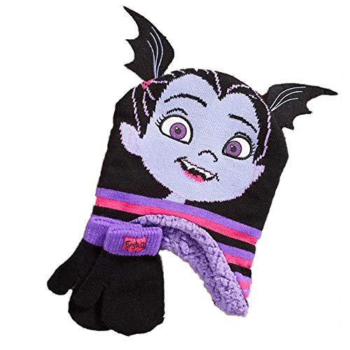 Disney Vampirina Little Girls Toddler Sherpa Winter Hat & Mitten Set