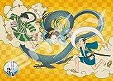 500 piece jigsaw puzzle Isobe ISO Samurai story Fujin Raijin figure (38x53cm)
