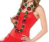 Rubies Costume Womens Clausplay Jumbo Christmas Necklace