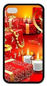 free iphone 4 cases Christmas Presents TPU Black for Apple iPhone 4/4S