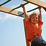 Monkey Bars for Kids by Swing-N-Slide (Pack of 6) Green, Perfect for Outdoor Backyard Playground