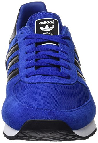 adidas ZX Racer, Chaussures de Sport Mixte Adulte Bleu (Collegiate Royal/core  Black ...