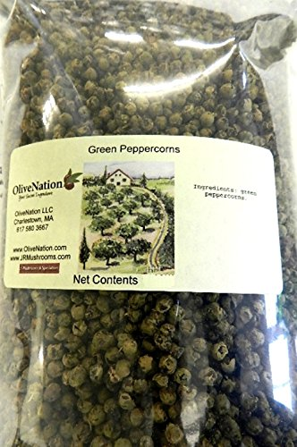 OliveNation Green Peppercorns 8 oz